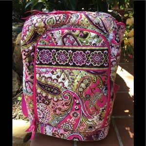Vera Bradley Bags - Vera Bradley Very Berry Paisley Laptop Backpack
